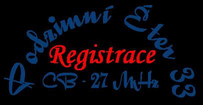 Logo registrace